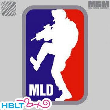 パッチ MSM ミルスペックモンキー MLD Major League Doorkicker(刺繍) /ベルクロ パッチ ワッペン ミリタリー メジャーリーグ サバゲ 装備 MIL-SPEC MONKEY サバゲー画像