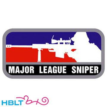 パッチ MSM ミルスペックモンキー Major League Sniper(刺繍) /ベルクロ パッチ ワッペン ミリタリー メジャーリーグ サバゲ 装備 MIL-SPEC MONKEY サバゲー画像