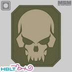 *ポスト投函商品* 【MSM(ミルスペックモンキー)】パッチ Pirate Skull Large(PVC)/MIL-SPEC MONKEY/ベルクロ/パッチ/ワッペン/海賊/スカル/骸骨/サバゲ/装備