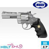 【東京マルイ(TOKYO MARUI)】Colt Python .357mag. 4inch HOP SV/ステンレス(10才 エアー式リボルバー)/コルト/パイソン/357マグナム/シルバー/Silver