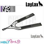 【LayLax(Giga Tec)】EVO Lipoバッテリー 7.4V 1100mAh 30C/45C(エボリポ セパレート)/ライラクス ギガテック