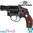 タナカワークス SW M40 センチニアル HW ブラック 2インチ ガスガン リボルバー 本体 /ガス エアガン タナカ tanaka SW Jフレーム サバゲー 銃