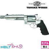 【タナカワークス(Tanaka)】S&W M500 パフォーマンスセンター マグナムハンター Ver.2 ステンレス/シルバー 6.5インチ(発火式モデルガン/リボルバー本体)/田中ワークス/SW/Smith & Wesson/Xフレーム/Performance Center/PC