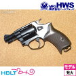【Hartford HWS(ハートフォード)】J−Police 38S ゴーストブラック 2inch(発火式モデルガン/完成/リボルバー)