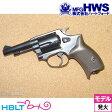 【Hartford HWS(ハートフォード)】J−Police 38S ゴーストブラック 3inch(発火式モデルガン/完成/リボルバー)