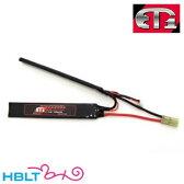 【ET1】バッテリー LIPO R 7.4v 1400mAh レッドライン(セパレート)|ETR214x2/ET-1/リポ/Battery/充電式/電池