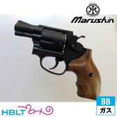 【マルシン工業(Marushin)】SW M36 Chief SP Xカート仕様 木グリ HW Black 2inch(ガスガン/リボルバー本体 6mm)/MKK/S&W/Smith & Wesson/チーフスペシャル