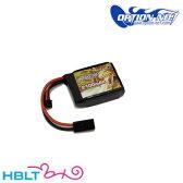 【OPTION No.1(オプションNo.1)】バッテリー HIGH POWER LiPo 2100mAh 7.4V(マルイミニ・コネクター /PEQタイプ) GB−0023M/マッチド/リポ/Battery/充電式/電池