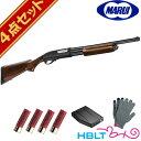 東京マルイ M870 ウッドストックタイプ ガスショットガン フルセット /ガス エアガン レミントン 散弾銃 wood stock スターター サバゲー 銃