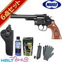 東京マルイ SW M19 6インチ Black ガスリボルバー フルセット /ガス エアガン SW Revolver Kフレーム サバゲー 銃