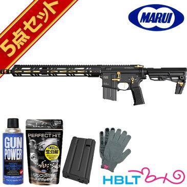 東京マルイ MTR16 Gエディション ゴールドマッチ ガスブローバック フルセット /GBB ガスブロ ガスライフル Zシステム MTR-16 GOLD サバゲー 銃