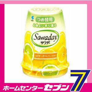 香り薫るサワデー つめ替 レモン&スウィーティ 140g 小林製薬 [消臭 芳香 つけかえ]