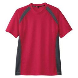 コーコス信岡 半袖Tシャツ(吸汗速乾) AS-627/レッド/3L