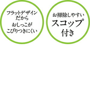 アイリスオーヤマ 上から猫トイレ プチ ホワイト PUNT−430【4967576299473:1309】