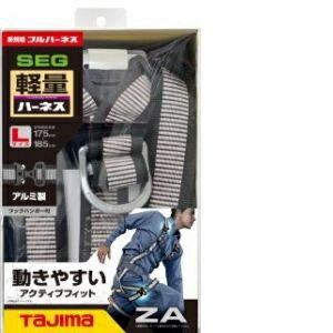◇ タジマ 『新規格在庫入荷 数量限定』ハーネスZA ライン白 L AZAL−LWH 【4975364261274:10167】