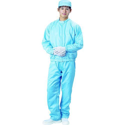 ■ブラストン 防塵ジャケット(立衿)-青-Mサイズ BSC-42001-B-M 【1158303:0】