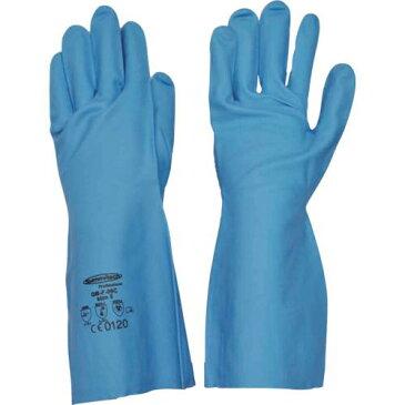 ■サミテック 耐油・耐溶剤手袋 サミテックGB-F-06 M ブルー 4491 【4735404:0】