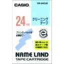 ■カシオ カシオ ネームランド用クリーニングテープ24mm XR-24CLE カシオ計算機(株)【8036669:0】