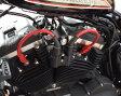 【DKcustom/DKカスタム】PRO RACE スパークプラグコード・レッド センターコイル用