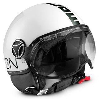 【MOMODESIGN】SEL-MOMO-CLASSIC-SWジェットヘルメットFGTRCLASSICシャイニーホワイト