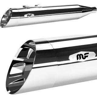 Magnaflow HITMAN FLHX 4 5インチ クローム:ワールドモーター