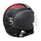 【MOMO DESIGN】ジェットヘルメット AVIO PRO アスファルト シャイニー