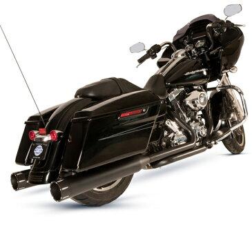 【S&S】 エルドラド Mark-45 マフラー&エキゾーストパイプ ブラック トレーサーエンド