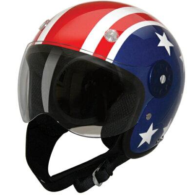 【HCI】HCI-15 オープンフェイスヘルメット スター&ストライプharley ハーレー