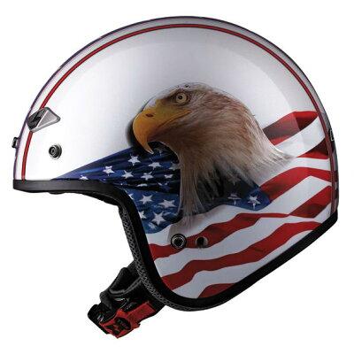 LS2 イーグル・オープンフェイス・ヘルメット ハーレーHARLEY