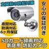 防犯カメラsdカード録画家庭用屋外防犯カメラCK-07