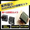 防犯カメラSDカード録画AHD対応小型レコーダー【CK-MB01】128GB対応