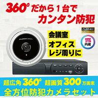 フルHDアナログ360度カメラCS-BA01