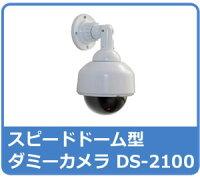 【屋内向け】本格!LED付きスピードドームダミーカメラDS-2100