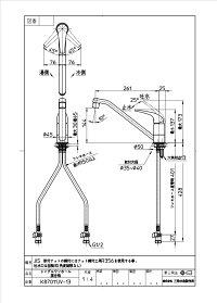 三栄水栓【K87011JV-13】図面