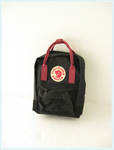 black and ox red kanken mini