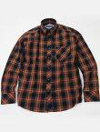 NEVERTRUSTネバートラスト/タータンチェックボタンダウンシャツ(NEN-99101)NavyxRedxGreen-国内送料無料-