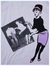 OriginalJohnオリジナルジョン/プリントTシャツ(BEATGIRL)Pink