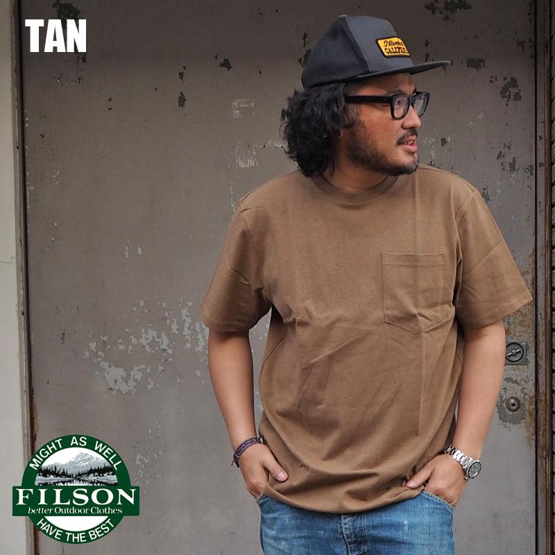 トップス, Tシャツ・カットソー FILSON T FLSN001 T USA T SHORT SLEEVE OUTFITTER ONE-POCKET