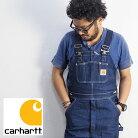carharttカーハートDENIMBIBOVERALLCRHTT-R08オーバーオールメンズつなぎオールインワンツナギワークデニム生地アメカジカジュアルエンジニア大きい大きいサイズ大きめヴィンテージパンツロングパンツ