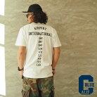 CALIFORNIABLUEカリフォルニアブルーAIRPORTポケットTシャツCBS-036メンズレディース半袖半袖TシャツプリントポケTロゴプリントTシャツバックプリントアメカジカリフォルニアCALIF黒白グレー