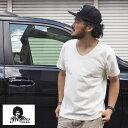 PRESTONS プレストンズ COTTON USA Vネック Tシャツ prs-7100036 メンズ レディース アメカジ 無地 半袖 ブイネック 半袖Tシャツ 無地Tシャツ VネックTシャツ カットソー インナー 大きいサイズ LL シンプル XL 大きい 白 黒 紺 グレー 綿 100%