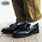 SOLOVAIRソロヴェアーTASSELLOAFERローファー0-822-17SS17Zタッセルシューズ靴プレーントゥシューズブラックメンズシューズブーツカジュアルビジネス紳士靴短靴ソロベアーグッドイヤー