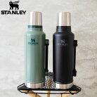 STANLEYスタンレー水筒クラシック真空ボトル1.9L10-07934ボトルアウトドアキャンプシンプルステンレス製クラシック魔法瓶水筒保温保冷メンズレディース真空ボトル大容量おしゃれ