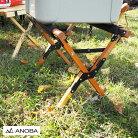 ANOBAアノバクーラースタンドウッドクーラースタンドAN006スタンドアウトドアキャンプギア木製折り畳み折り畳み式おしゃれキャンプ道具収納袋シンプル