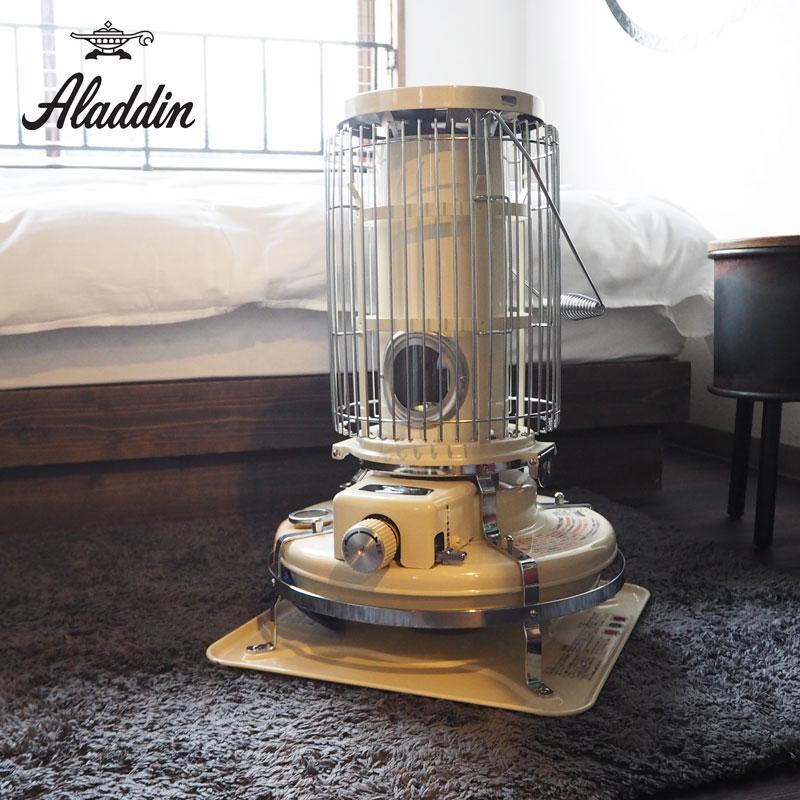 Aladdin アラジン ブルーフレームヒーター BF-3911 ストーブ 石油ストーブ ヒーター おしゃれ レトロ 暖房 白 ホワイト 人気 キャンプ 家電 日本製