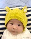 ベビー 帽子 ネコ耳 ねこ耳 キッズ 耳付きニット帽 赤ちゃん BABY ベイビー 子供用帽子 幼児帽子 韓国子供服 子供 ベビー ニット帽 ニット 女の子 男の子 ネコ耳 赤ちゃん帽子 子供帽子 誕生日パーティー ハロウィン 3
