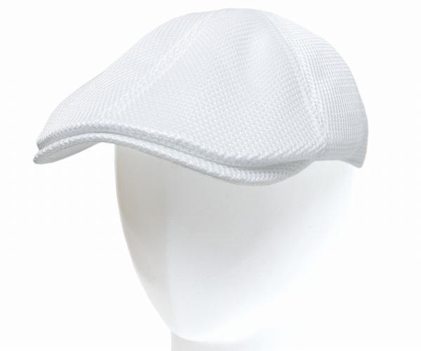 DORFMANPACIFIC/DPC(ドーフマンパシフィック)メッシュハンチングMESHIVYHUNTING(MC193-WHT),White(メッシュアイビーハンチング,ホワイト)[ハンチング帽夏メッシュ帽子メンズレディース]