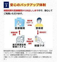 新型コロナウイルス唾液PCR検査キットプーリング方式(慶應義塾大学医学部西原教授監修)
