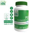 PQQ PureQQ 20mg 120粒 Non-GMO アメリカ製 ピロロキノリンキノン ベジカプセル サプリメント サプリ 健康食品 ビタミンサプリメント 健康 米国 USA