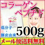 コラーゲン 100% 微顆粒品500g【送料無料】 コラーゲン